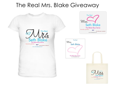 The Real Mrs Blake Giveaway