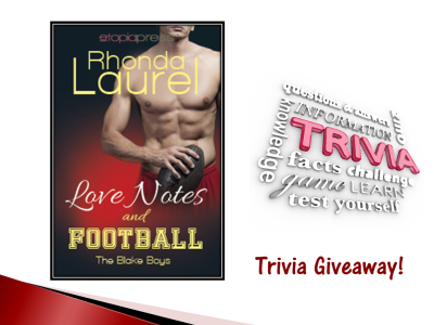 Loves Notes and Football Trivia Banner