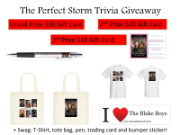 The Perfect Storm  Trivia Giveaway Banner