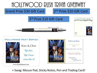 Hollywood Rush Trivia Giveaway Banner