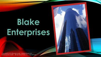 Blake Enterprises Banner