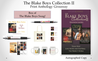 The Blake Collection II-B Giveaway Banner