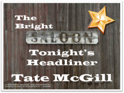 The Bright Star Saloon Sign