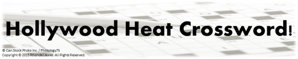 Crosswords Banner Hollywood Heat