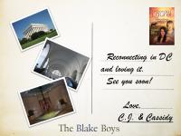 The Blake Boys Book Travels DC