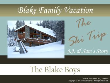 Blake Family Vacation Banner - JJ and Sam