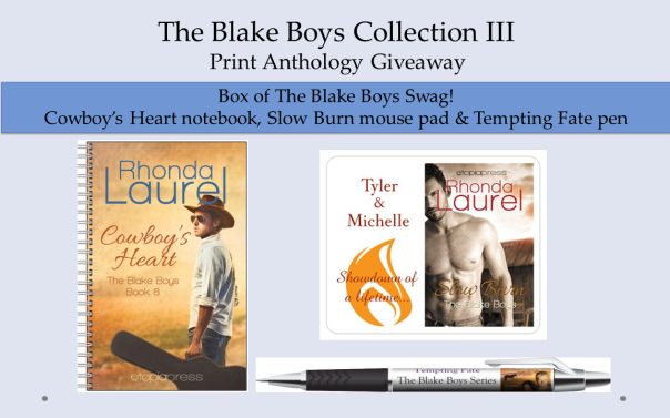 The Blake Collection III Giveaway Banner