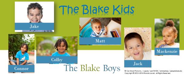 Blake Kids Banner