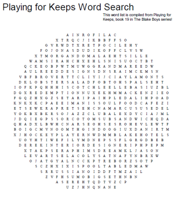 playing-for-keeps-word-search-puzzle